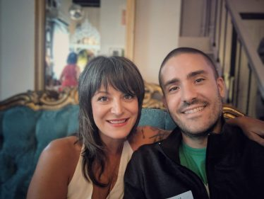 Podcast Corinne and Adam